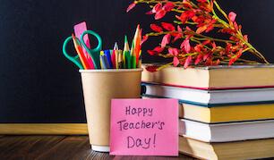 Teacher's Day Gift Cards