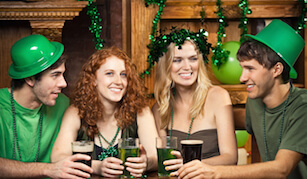 St Patrick's Day Gift Cards