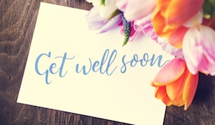 Get Well Soon Gift Cards